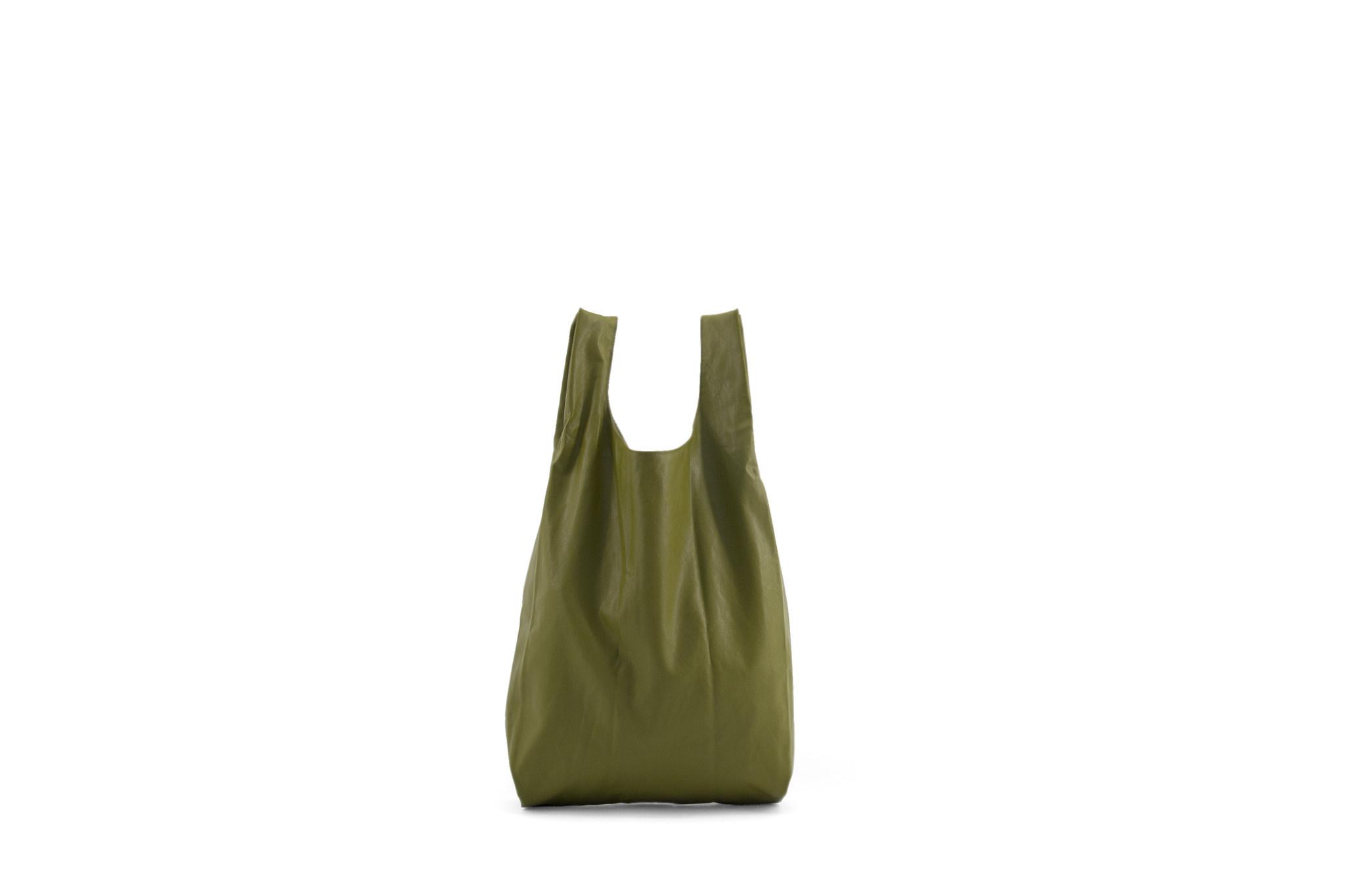 Marketbag - Olive green (3 stuks)-1