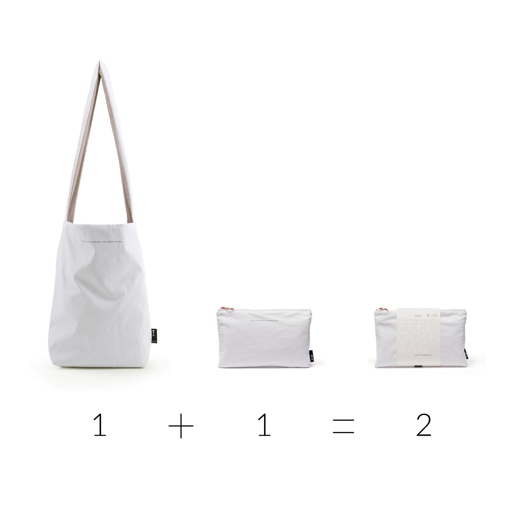 Feel Good Bag - Special Edition White (6 stuks)-2
