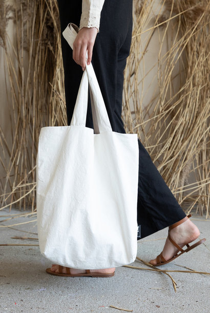 F.G. Tote Bag Tyvek - Off white (4 stuks)