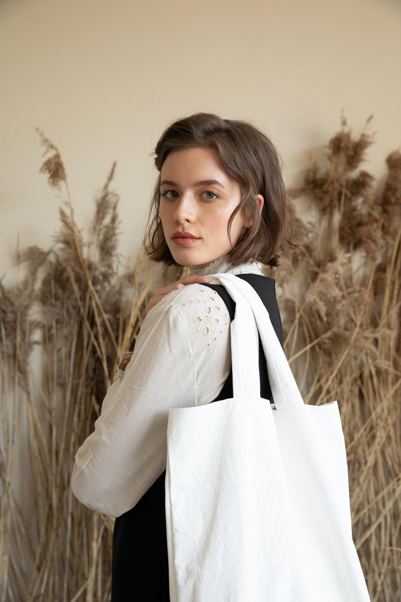 F.G. Tote Bag Tyvek - Off white (4 pcs.)-2