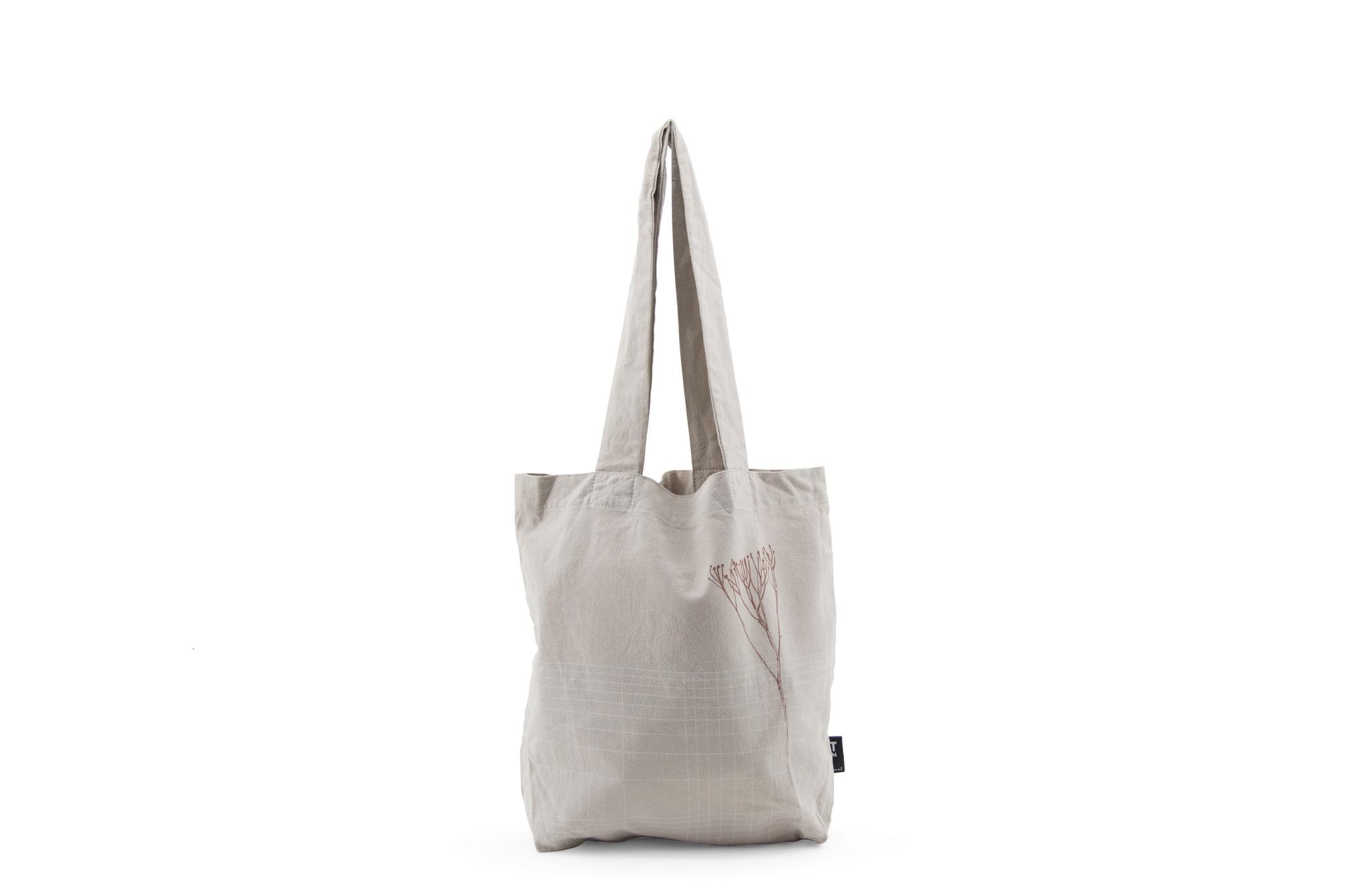 F.G. Tote Bag Linen - Eucalyptus (4 stuks)-2
