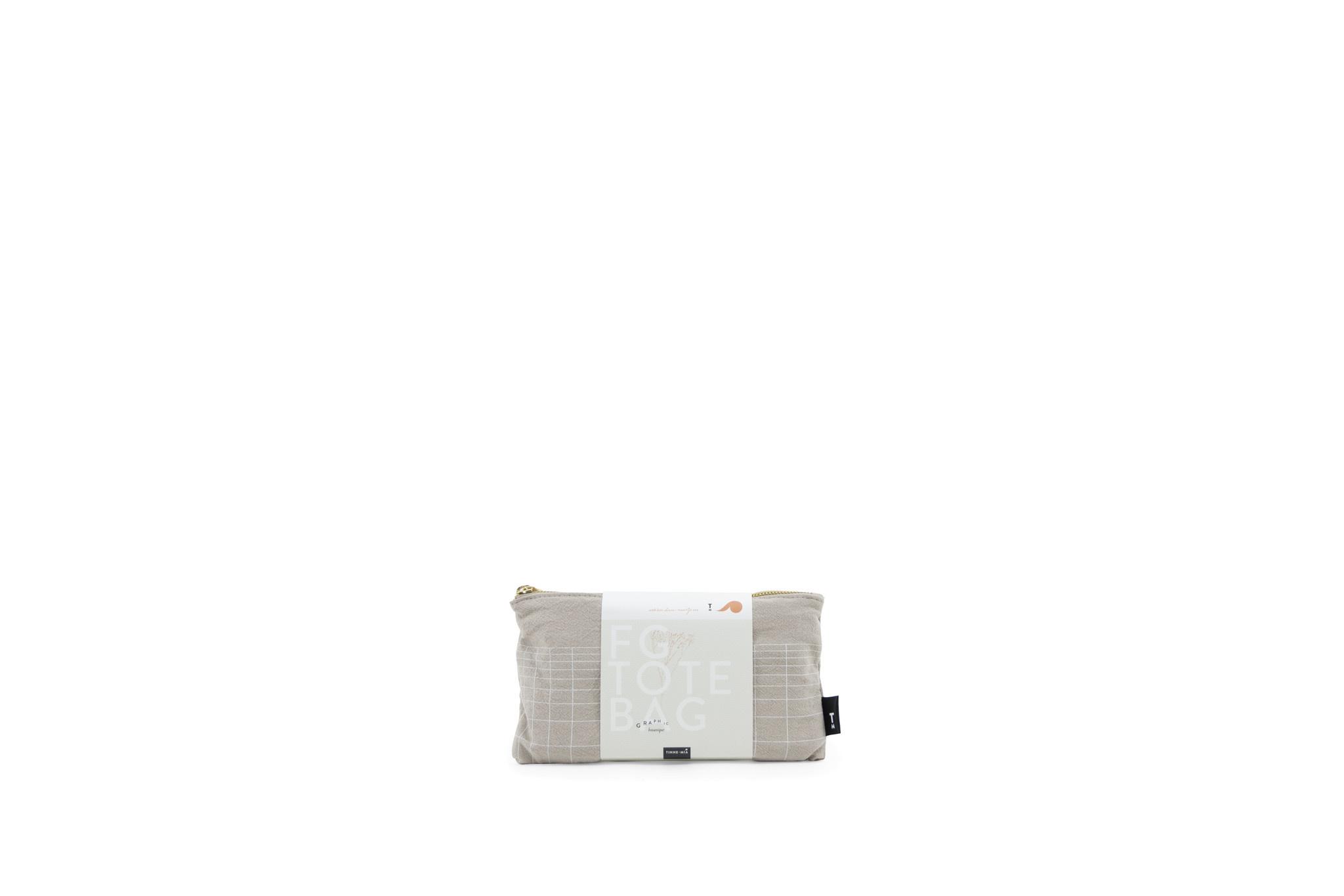 F.G. Tote Bag Linen - Eucalyptus (4 stuks)-6