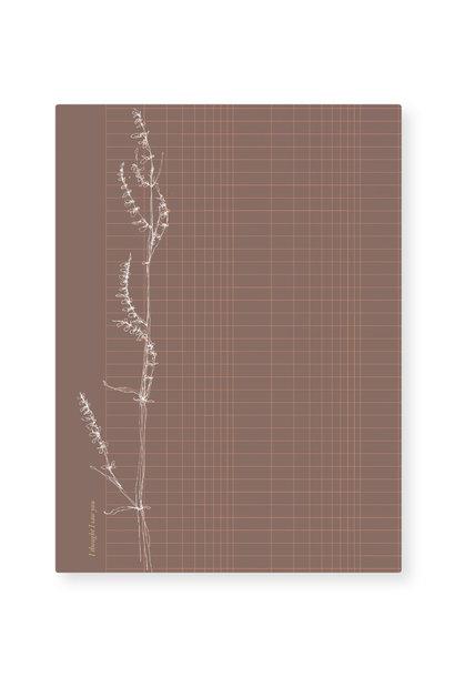 Kaart - Grass grid (5 stuks)