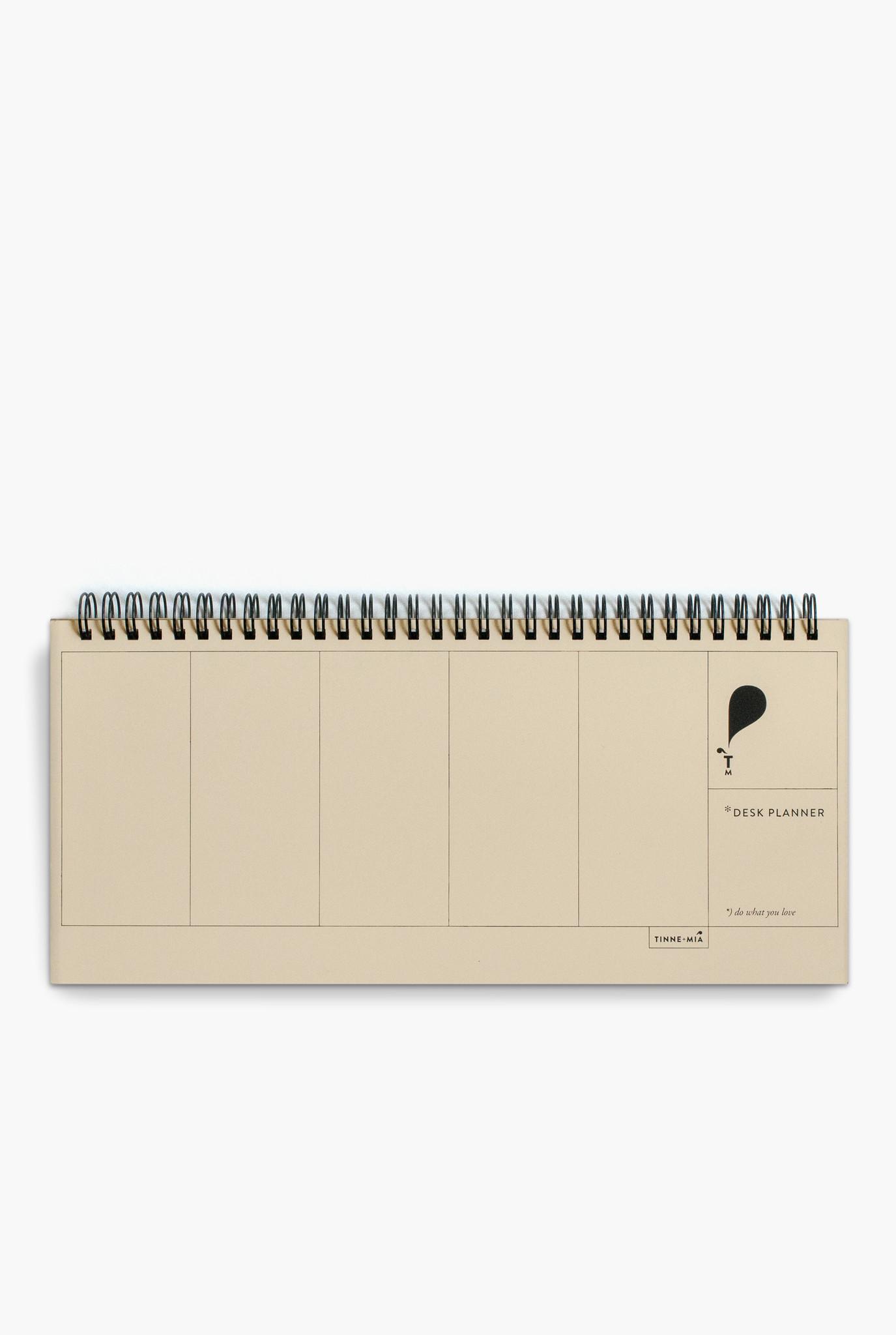 Desk Planner - Jaune doux (5pcs.)-1