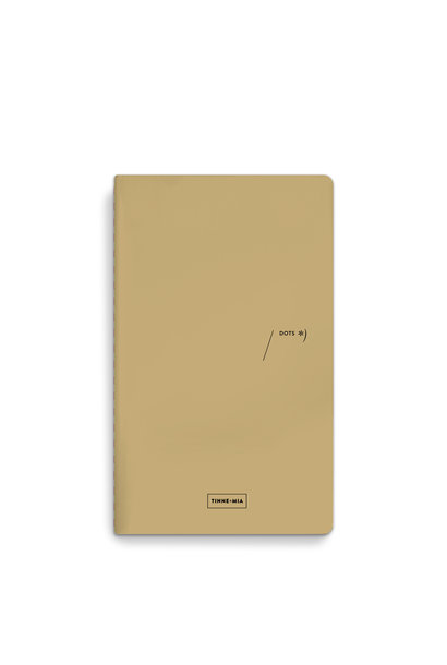 Refill notebook - dotted grid Almond (5 pcs.)
