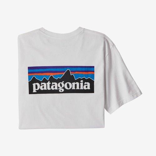 PATAGONIA Patagonia T-shirt p-6  logo km heren 38504-WHI