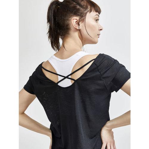 CRAFT Craft t-shirt charge cross back dames km 1910500-999000
