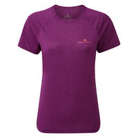 Ronhill T-shirt Stride s/s tee dames 004774-298
