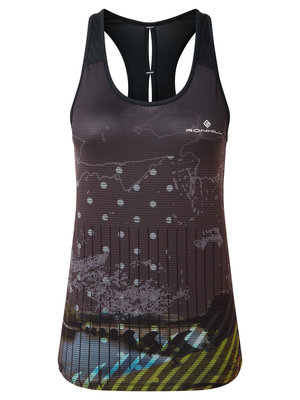 RONHILL Ronhill Singlet revive racer vest dames 005436- 0681