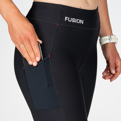 FUSION Fusion C3 Tr. Tight Dames 0266 Zwart