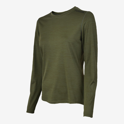 FUSION Fusion C3 LS Shirt Dames 0283 Groen