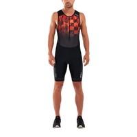 Trisuit Perform front zip heren MT5526D BLKFOM