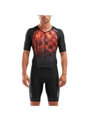 2XU Trisuit Perform sleeved heren  MT5525D BLKFOM