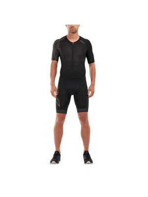 2XU Trisuit Compression sleeved heren MT5516D  BLKGLD