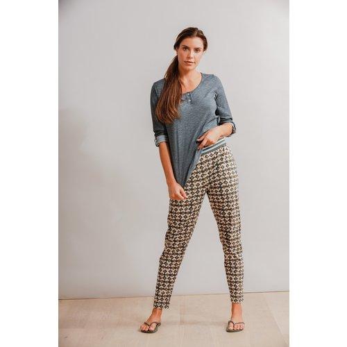 BLUE SPORTSWEAR Blue Camina trousers 210122 Pacific