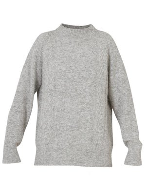 BLUE SPORTSWEAR Blue Boston Sweater 190352 Zilver Grijs