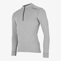 Fusion Runningshirt Heren C3 zip neck 0166 Grijs