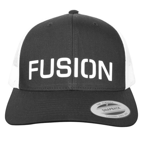 FUSION Fusion Snapback Cap zwart