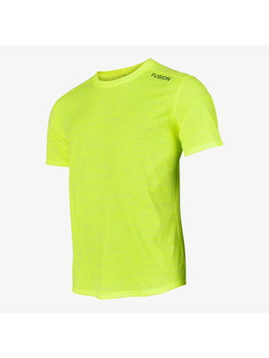 FUSION Fusion C3 Shirt Heren 900273 Geel