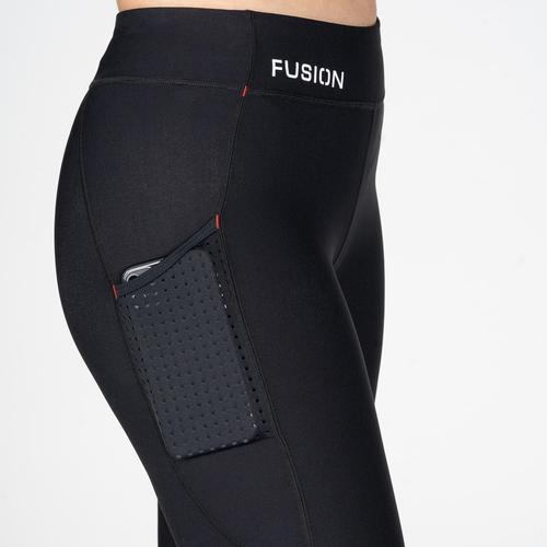 FUSION Fusion 3/4 Tight Dames 0297 Zwart