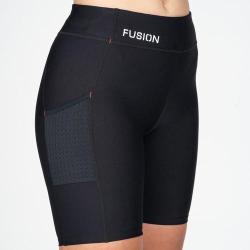 FUSION Fusion Short Tight Dames  0277 Zwart