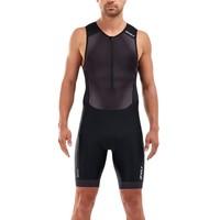 Trisuit Perform front zip heren MT5526D BLKSDW