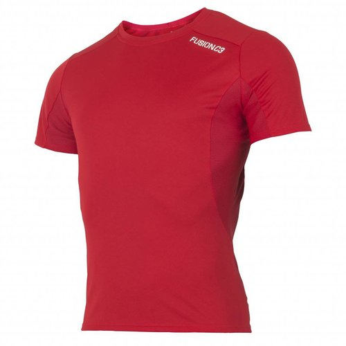 FUSION Fusion Runningshirt Heren C3 0052 Rood