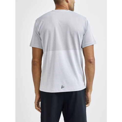 CRAFT Craft t-shirt heren Craft Core Sence structured tee 1909598-91934 ash/monument