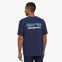 Patagonia T-shirt p-6  logo km heren 38504-CNY