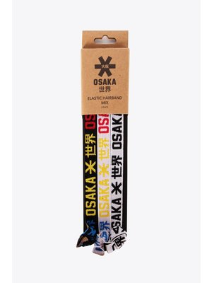 OSAKA Osaka Hairband wit grijs zwart