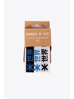 OSAKA Osaka Elastic bracelet wit grijs zwart