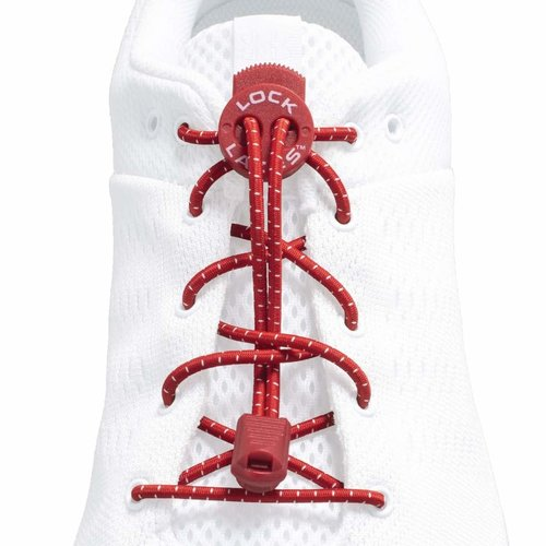 lock laces Lock laces Rood