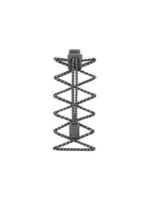 lock laces Elastische veters  Zwart