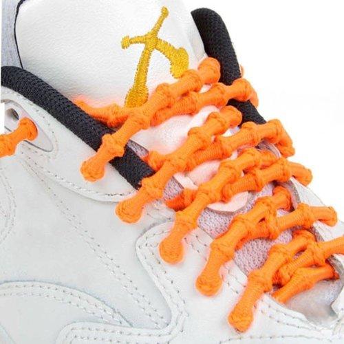 Xtenex elastische veters oranje