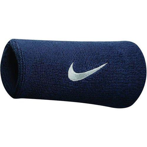 NIKE Nike polsband doublewide Blauw