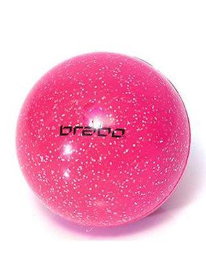 BRABO Brabo hockeybal Glitter Roze