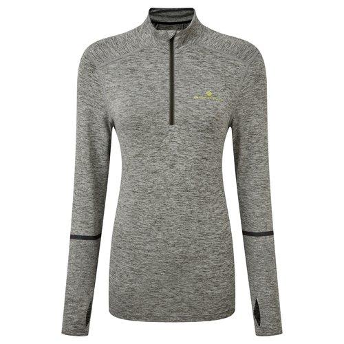 RONHILL Ronhill T-shirt lm Life Runner 1/2 zip dames 005867-00804