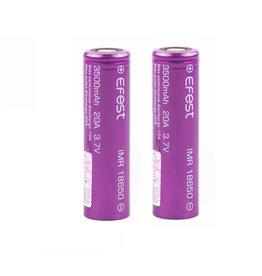 Efest 18650 batterij - 2pc