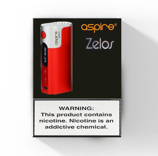 Aspire Zelos Box Mod - 50W