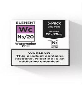 Element - Watermelon Chill - NS20 POD 2ML 3 x 20MG