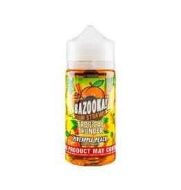 Bazooka! Sour Straws   Pineapple Peach - 100ml