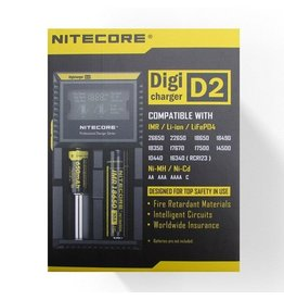 Nitecore Digicharger D2 oplader