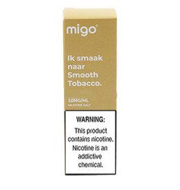 Migo - Smooth Tobacco (Nic Salt)