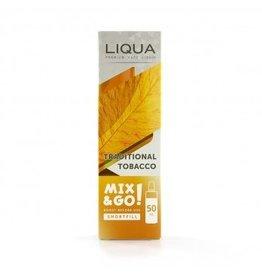 Liqua Mix & Go - Traditioneller Tabak - 50ml