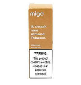 """Migo - Almond """" Original"""" Tobacco (Nic Salt)"""