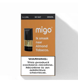Migo Pods - Almond Tobacco -2Pcs