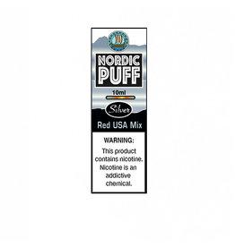 Nordic Puff Silver - Red USA Tobacco Mix