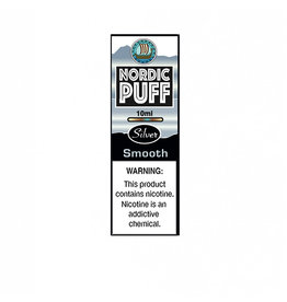 Nordic Puff Silver - Smooth Tobacco