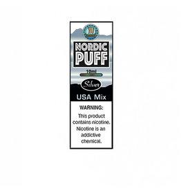 Nordic Puff Silver - USA Tobacco Mix
