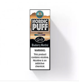 Nordic Puff Gold - Menthol Blueberry